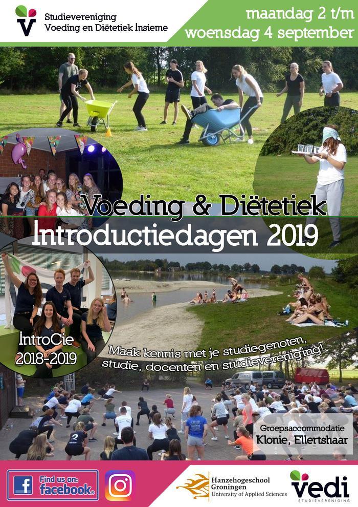 Introductiedagen Voeding en Diëtetiek 2019