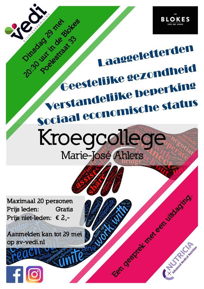 Kroegcollege door Marie-José Ahlers