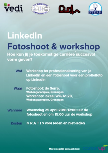 LinkedIn fotoshoot & workshop